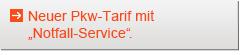 Neuer Pkw-Tarif mit Notfall-Service