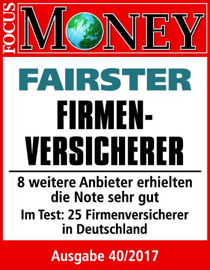 Focus Money - Fairster Firmenversicherer
